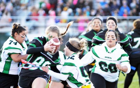 Juniors take on Seniors at powder-puff game