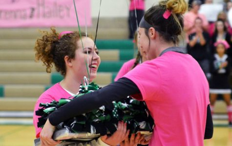Volleyball recognizes two seniors