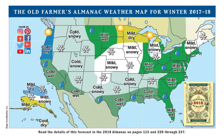 Winter predictions say cold and wet