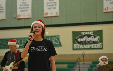 Christmas assembly a success