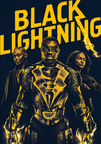 Black Lightning lights up the show
