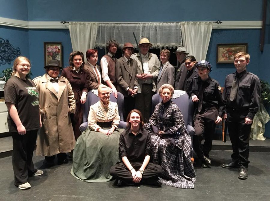 Teachers Join Students Onstage in Arsenic and Old Lace