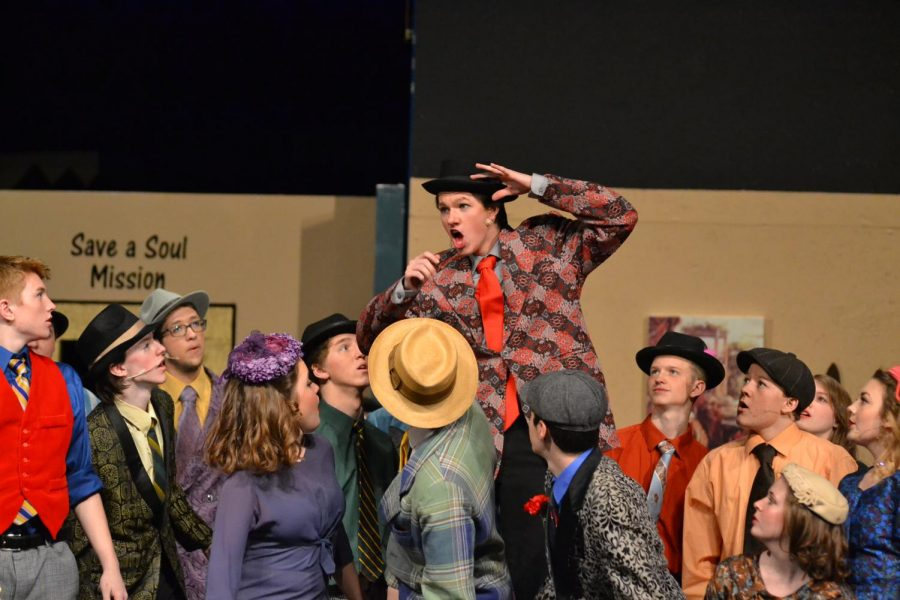 Spring Musical, Guys and Dolls, a success