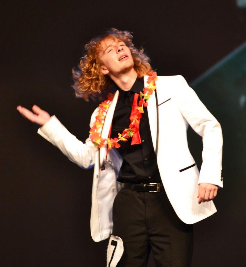 Daegan+Simpson+%2811%29+flipping+his+hair.++Photo+by+Kaitlyn+Jensen%2C+online+editor.