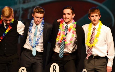 Distinguished Dudes perform for funding the DYW program