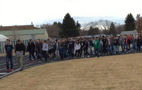 #ENOUGH: Blackfoot High School participates in national walkout