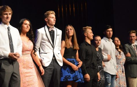 Homecoming candidates assembly