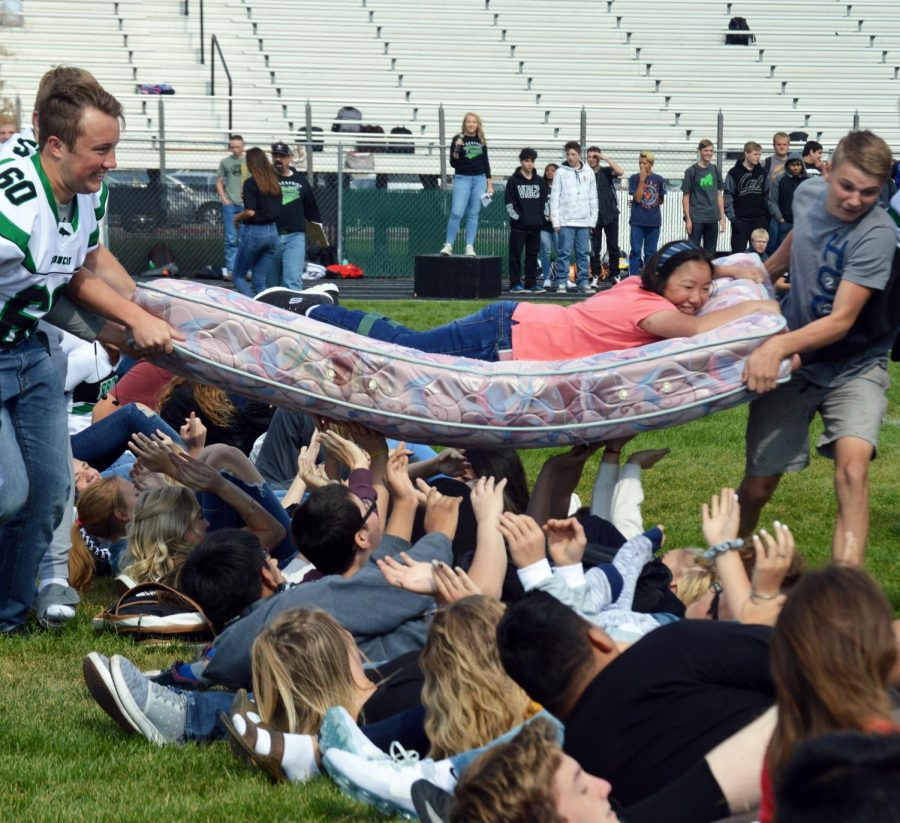 BHS kicks of year with fun assembly