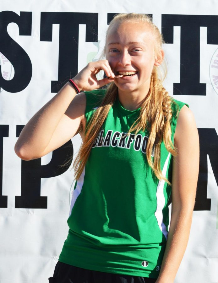 Shakayla Morgan medals at state after only two years of running
