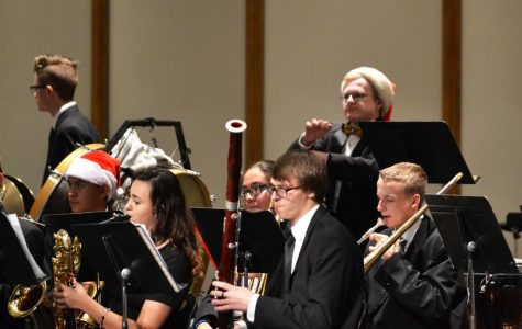 BHS choirs and bands perform Christmas concert