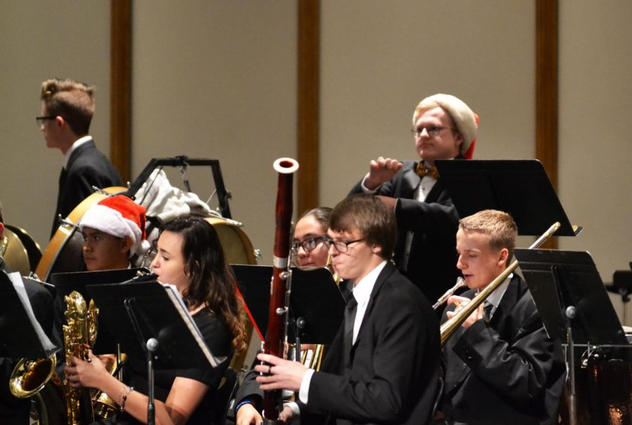 BHS+choirs+and+bands+perform+Christmas+concert