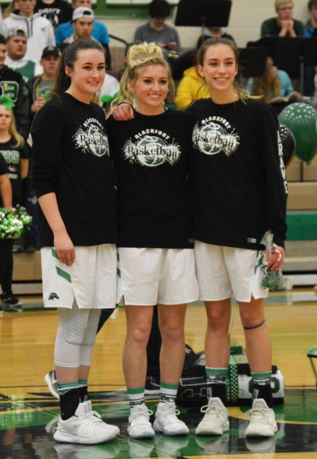 Blackfoot High School recognizes senior girls