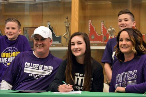 Allie Cannon commits to play basketball at College of Idaho