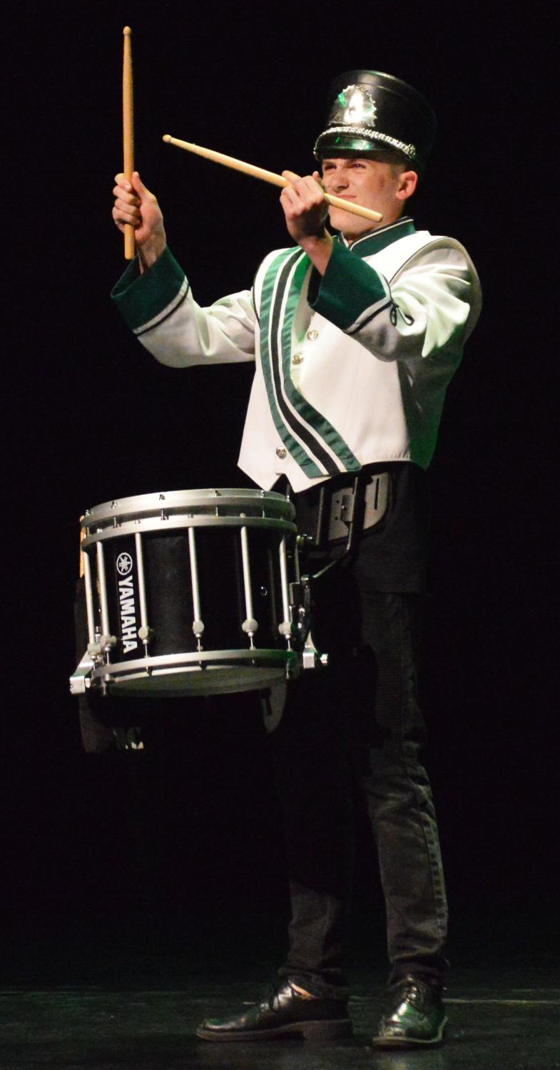 WINNER.+Drake+Collier+%2811%29+takes+first+place+in+talent+with+a+drum+solo.+