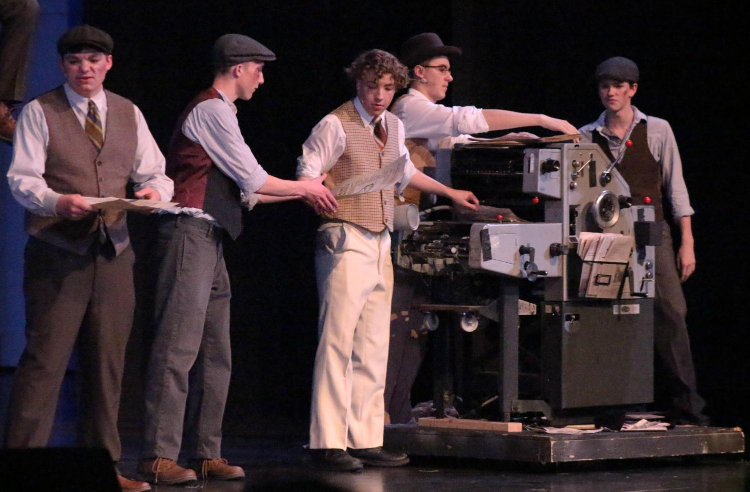 MAKING+PAPES.+Newsies+come+together+to+print+their+own+newspapers.