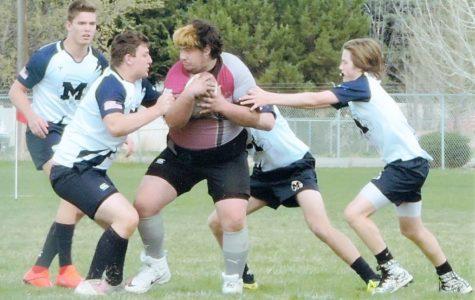 Bingham boys rugby team battles Meridian