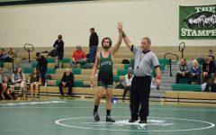 Blackfoot varsity wrestlers dual against Idaho Falls