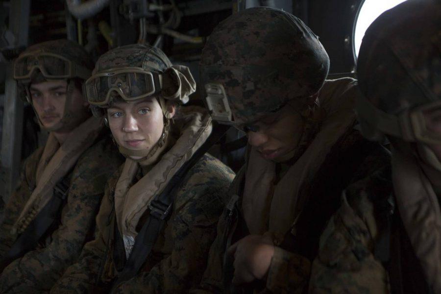 Sgt. Nicole L. Gee, 23, of Sacramento, California, assigned to Combat Logistics Battalion 24, 24th Marine Expeditionary Unit, II Marine Expeditionary Force, Camp Lejeune, North Carolina. (Left Middle)