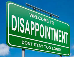 Dealing with Disappointment